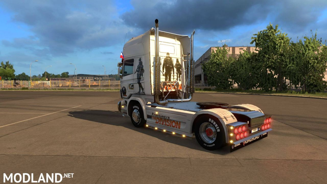 JDC SKINS SCANIA THE DIVISION
