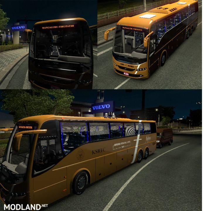 Garuda Plus (APSRTC), Flybus Skin for Volvo 9700 Grand