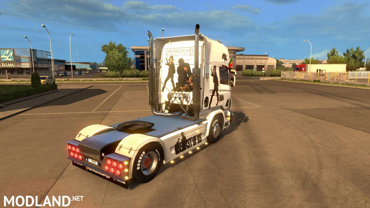 JDC SKINS SCANIA LAST OF US