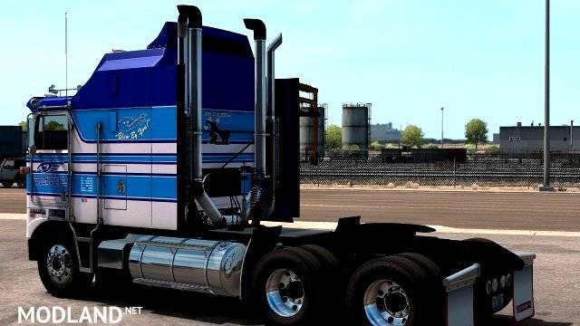 Blew By You! skin for Kenworth KW100e