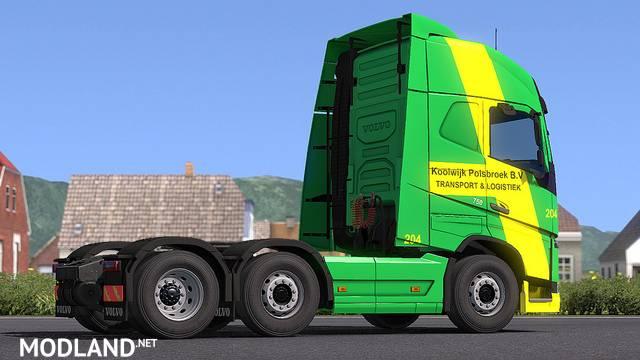 Volvo FH16 750 - Skin Koolwijk Logistics For ETS2 1.33.x