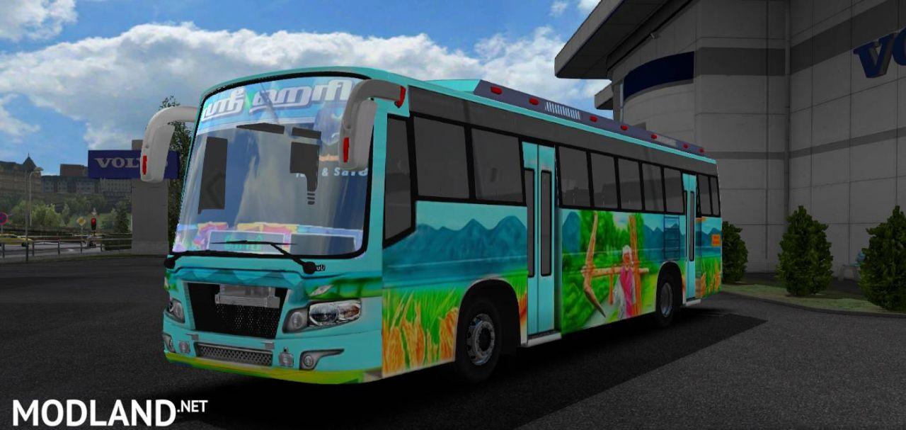 Maruti bus skin mod (Tamilnadu bus)