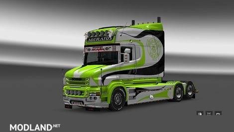 Scania T Ageratos Line Skin
