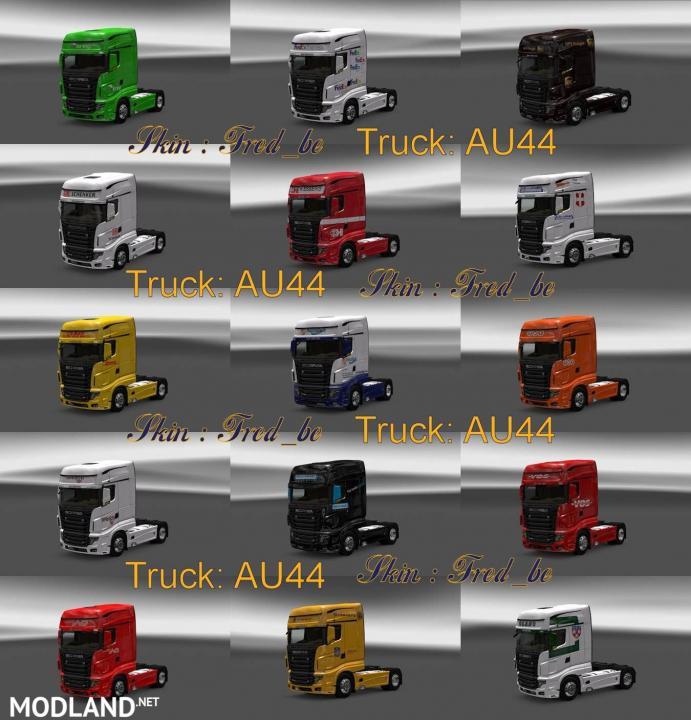 Scania R700 Skin Pack v1.14.x