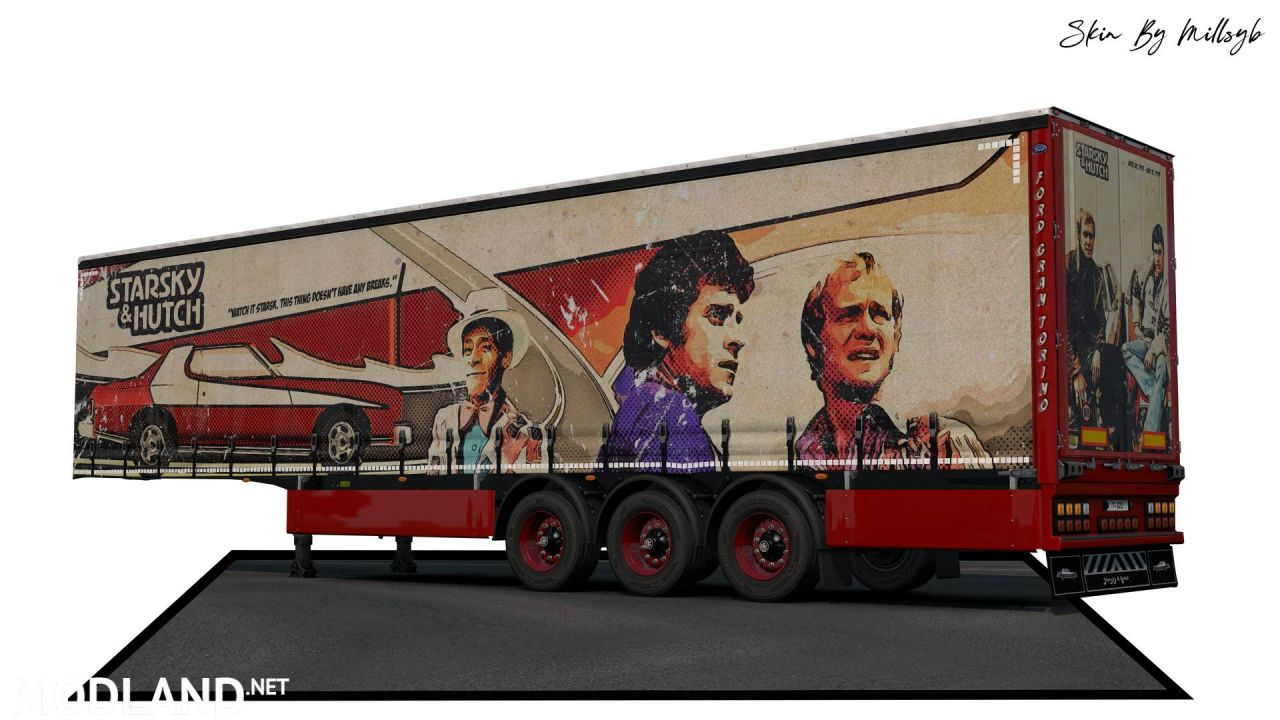 Starsky & Hutch Trailer Skin
