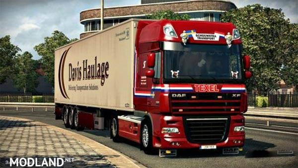 Daf 50keda skin Red Shouwstra