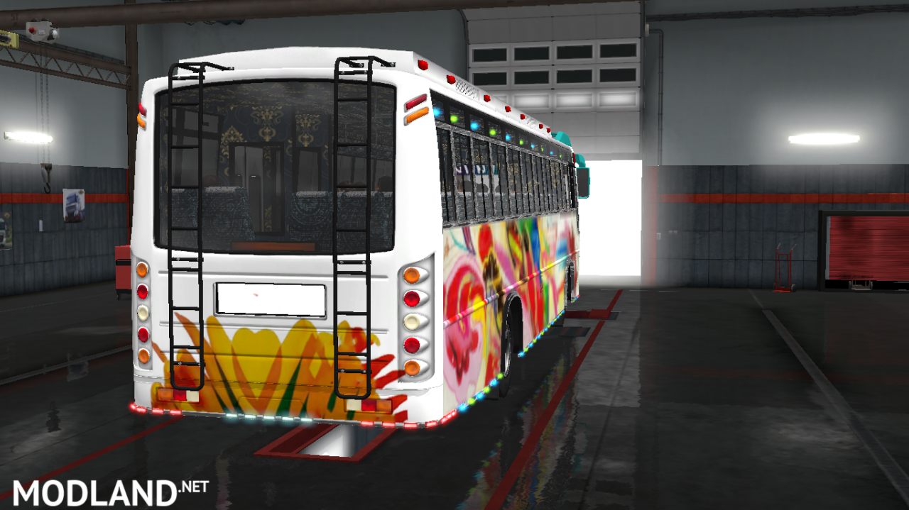 P.R.P SKINS FOR MARUTI BUS IN ETS2