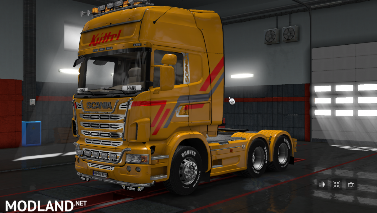 ETS 2 Scania Streamline Topline Küttel Transport