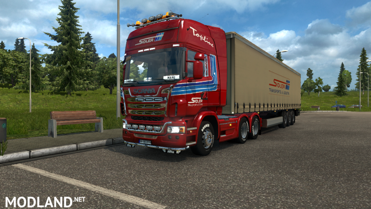 ETS 2 Scania Streamline Topline Siedler Transport