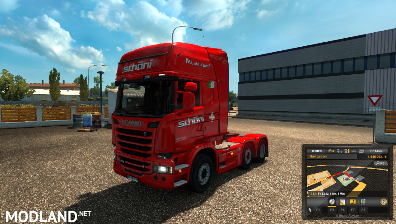 Schöni Transport AG Scania Streamline