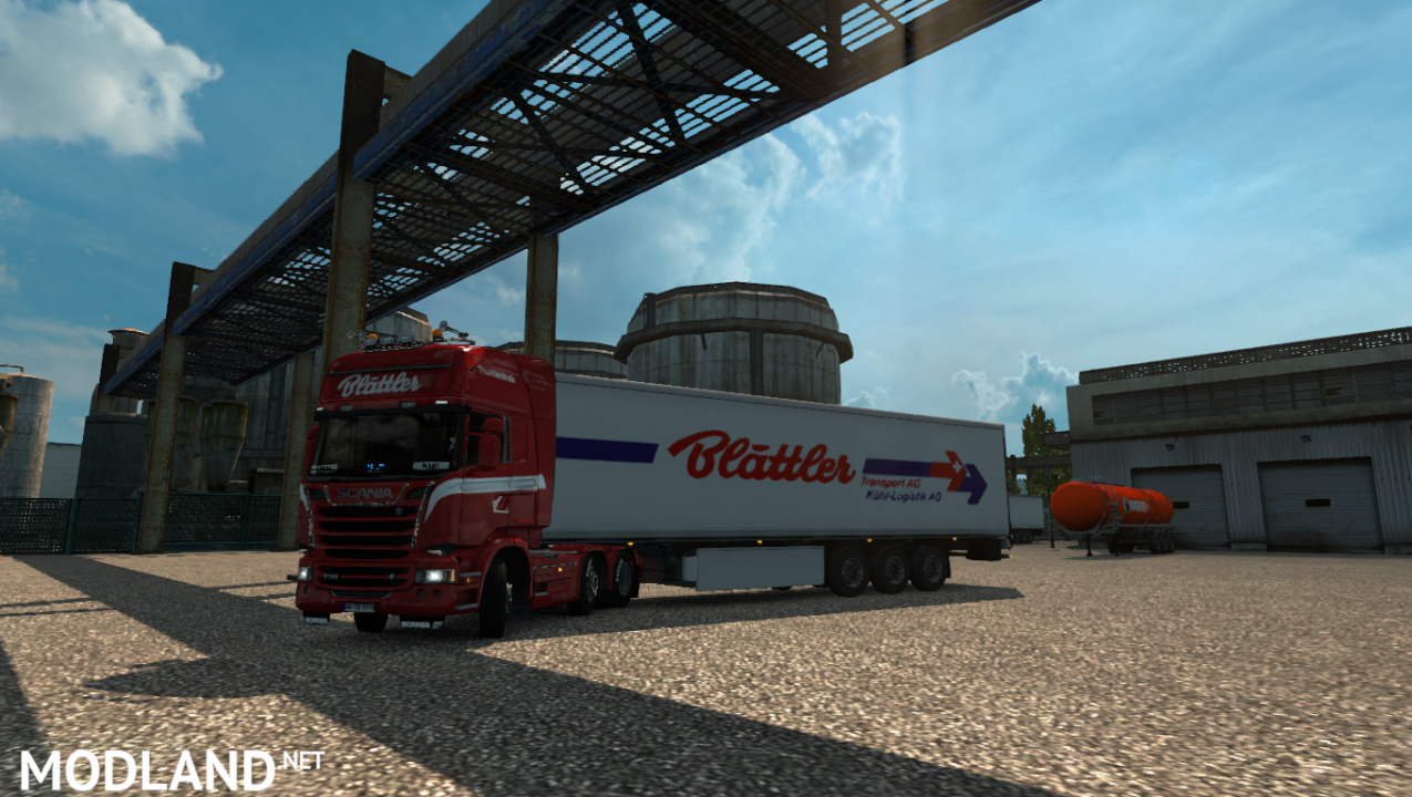 Scania R Streamline Blättler Transport