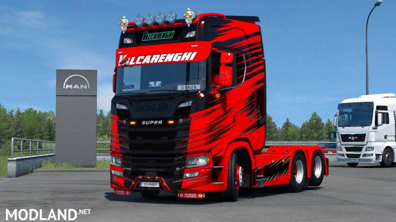 Scania S Valcarenghi Skin