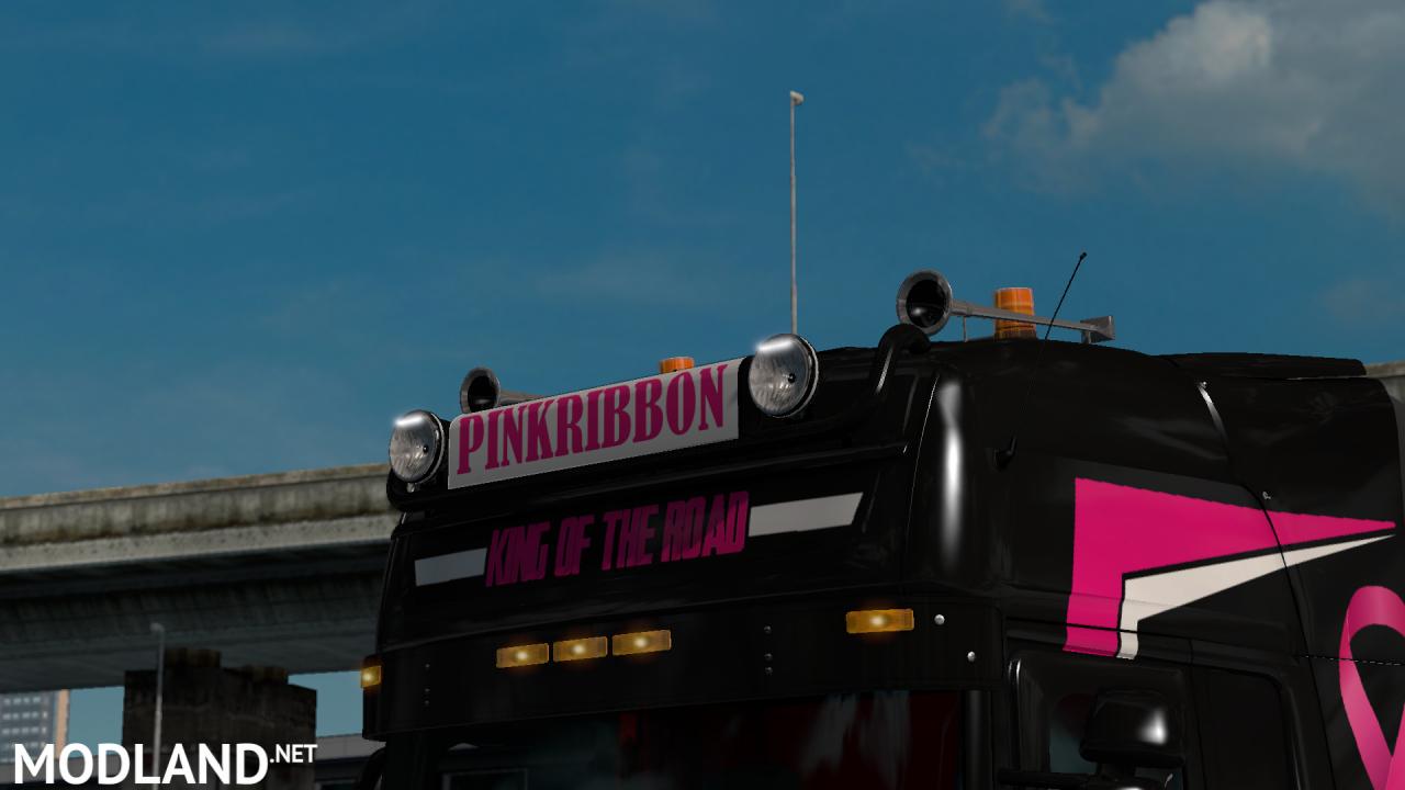 SCANIA RJL STREAMLINE PINK RIBBON SKIN