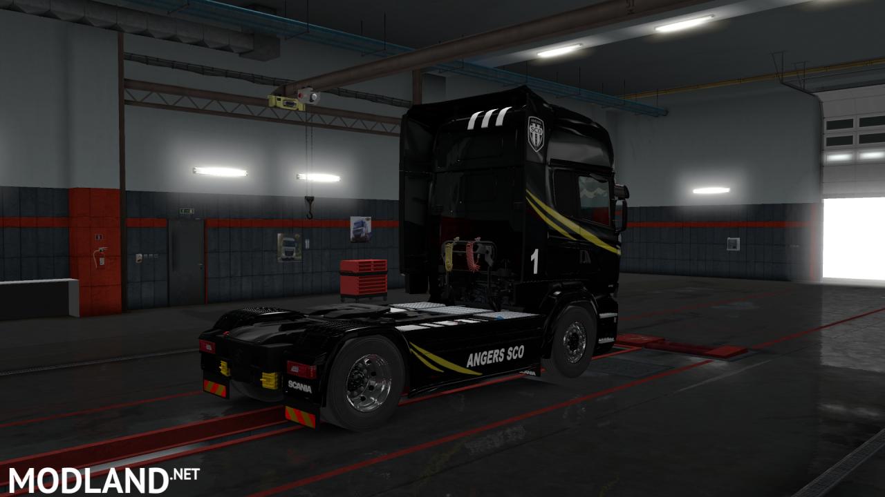 Skin Angers SCO 2015-2016 for Scania RJL