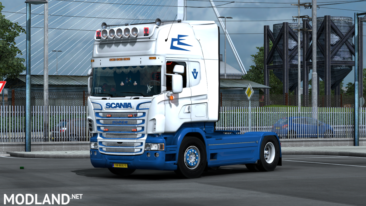 Scania RJL custom skin