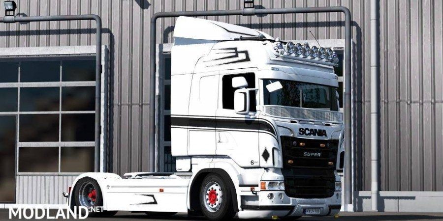 MPT style paintable skin for Scania RJL