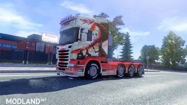 Scania 300 skin