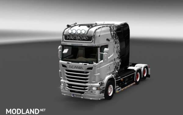Scania RJL Ageratus Skin