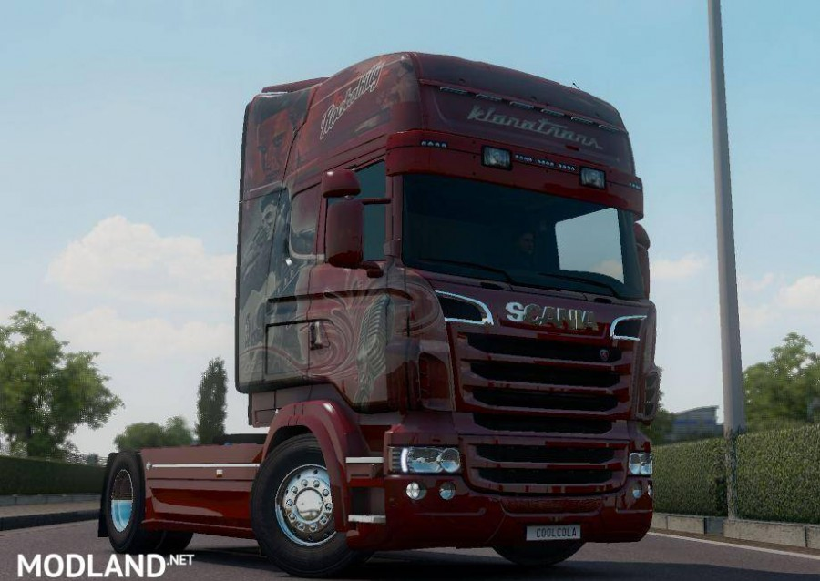 Scania RJL Klanatrans Rockabilly Skin I Beta