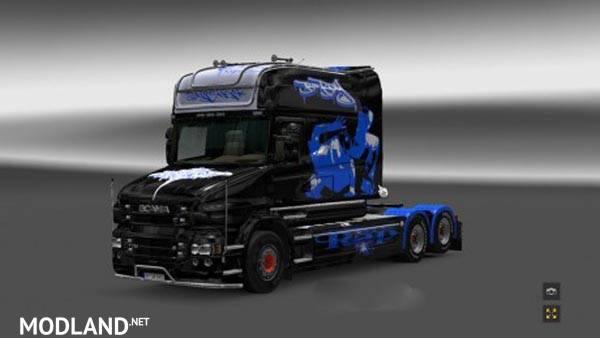 Scania T Longline Hip Hop Skin