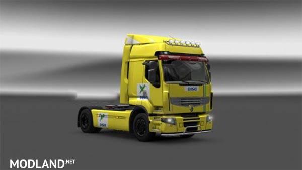 Skin Disa Renault Premium