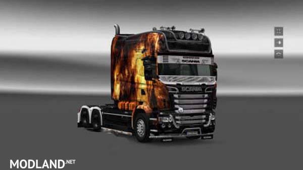 Skin Scania RJL Exc Longline (Wolf)