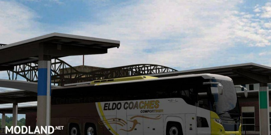 Southern Africa Bus Skin Pack for Scania Touring