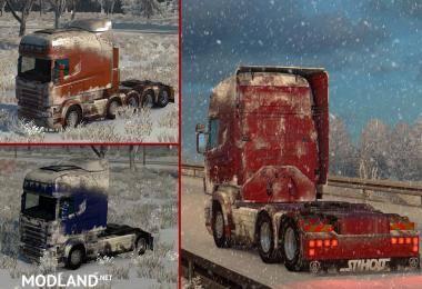 SNOW SKIN FOR SCANIA R-STREAMLINE BY RJL & SCS