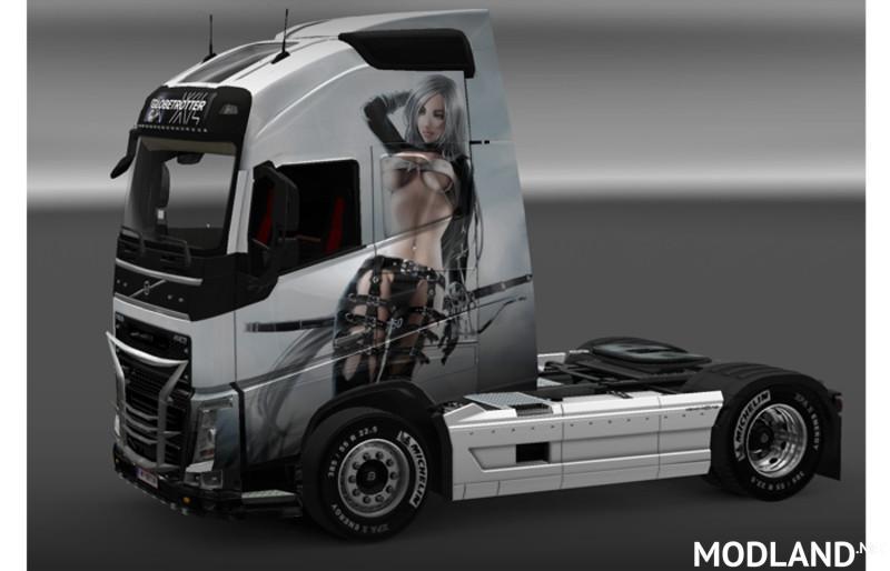Volvo FH Sexy Fantasy Skin