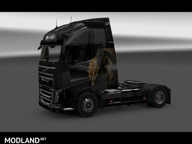 Volvo Skull