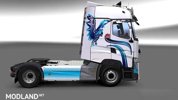 Renault Range T Rta W B Eagle Skin Mod For Ets 2