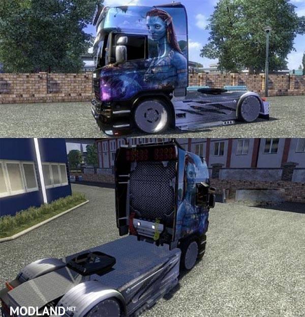 Avatar 2 Trailer: Scania R AVATAR Skins 1.16.x Mod For ETS 2