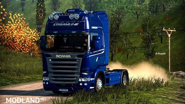 Scania Rjl Streamline Skin Mod For Ets 2