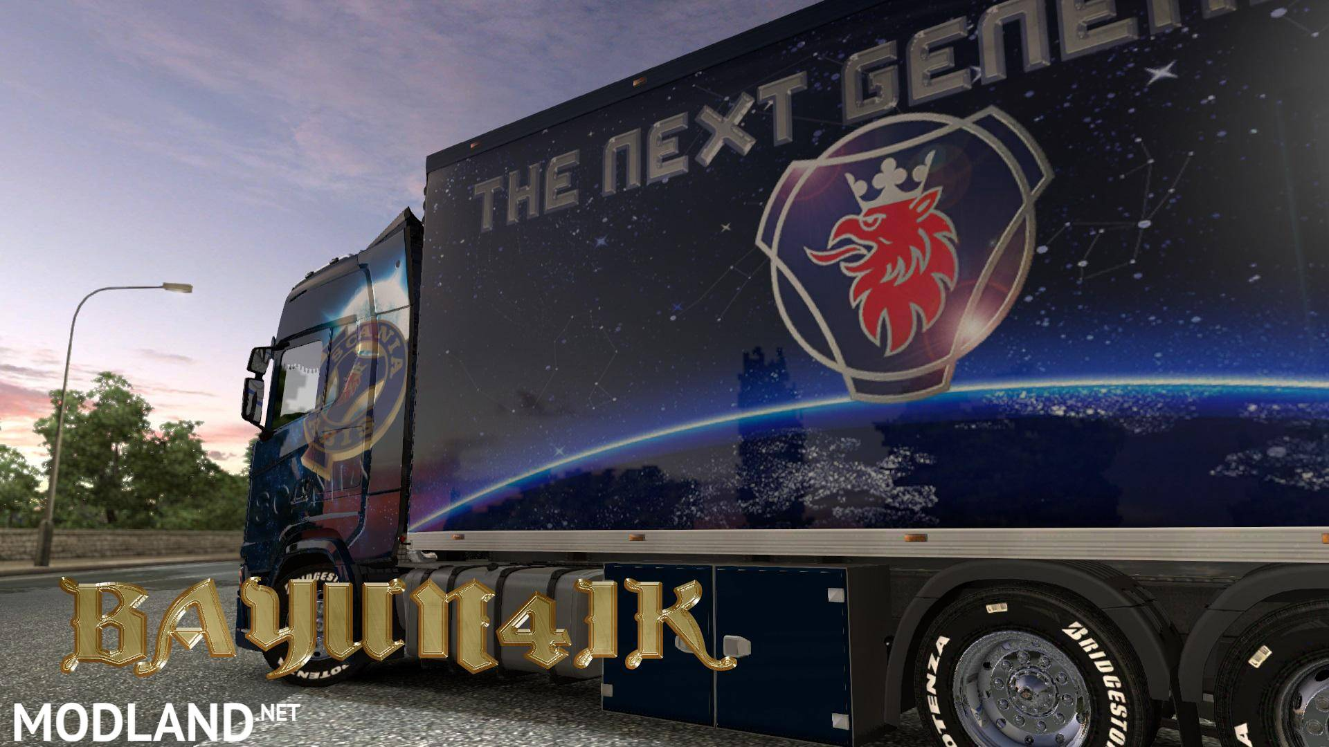Scania S 2016 Scs Next Generation Skin 1 30 Mod For Ets 2