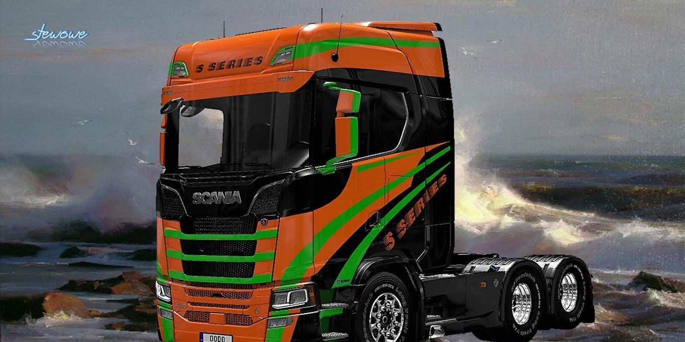 scania s series skin mod for ets 2. Black Bedroom Furniture Sets. Home Design Ideas