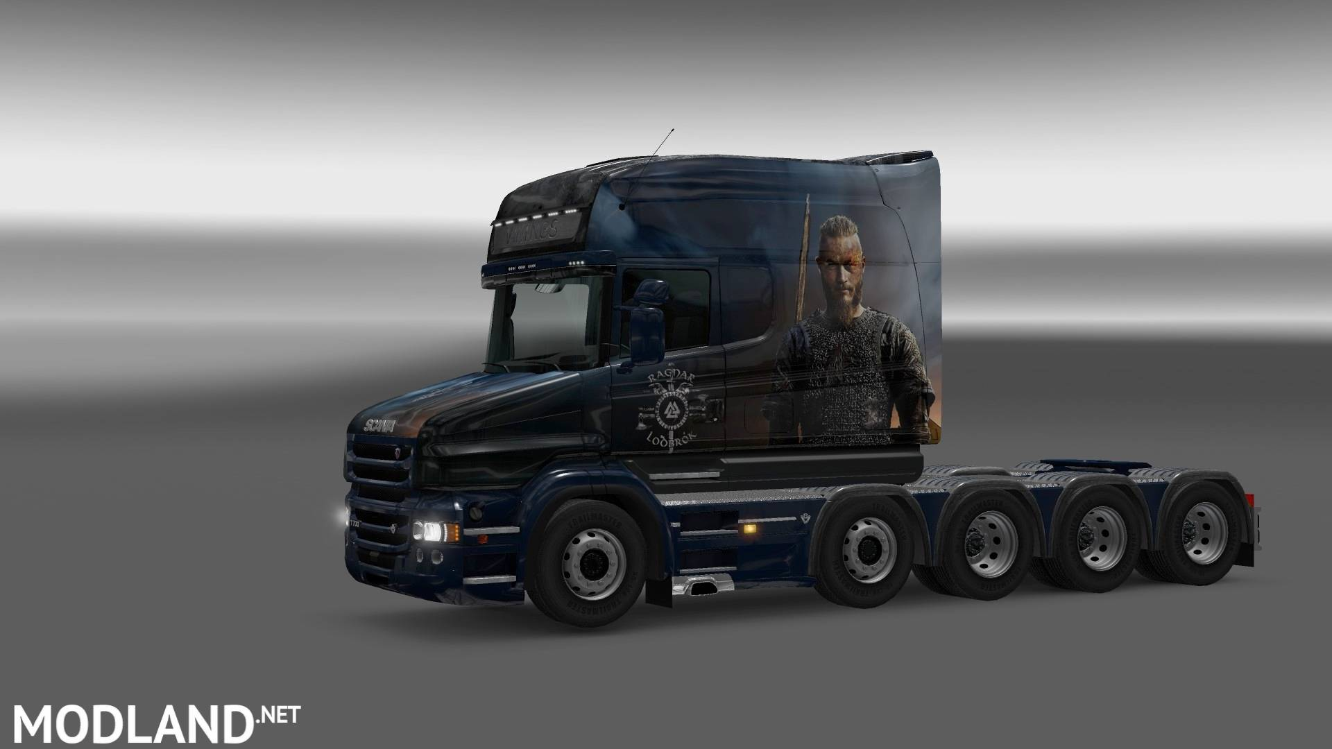 Skin Vinkings Scania T RJL Longline mod for ETS 2