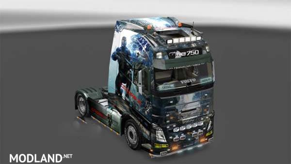 Skin Volvo Fh16 Non Classic Mod For Ets 2