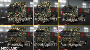 Combo Skin Military for all Truck and (Krone & Standard Trailers), 8 photo