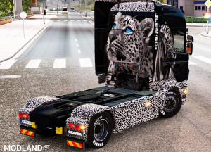 Tiger & Leopard skin for Scania RJL, 2 photo