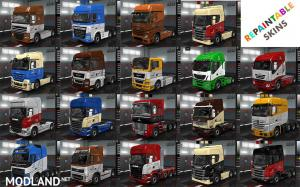 Wolf Trucks, Trailers, Garage skins and Company emblems pack