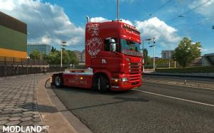 Scania RJL Red Vabis SKin, 2 photo