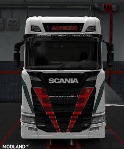 Scania S 2016 Savikko Skin FIX, 1 photo