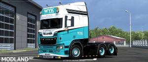 WYK Express Scania R Highline 2016 Skin, 1 photo