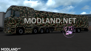 Combo Skin Military for all Truck and (Krone & Standard Trailers), 1 photo