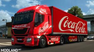 DAF, Iveco Hiway, Renault Premium Coca-Cola Combo, 1 photo
