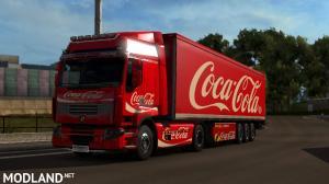 DAF, Iveco Hiway, Renault Premium Coca-Cola Combo, 3 photo
