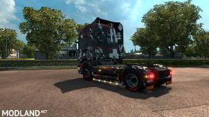 Scania r Topline Skins DEAD ISLAND