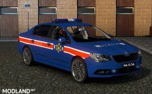 Macau Police Skin for Skoda Superb, 2 photo