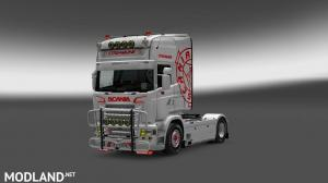 Scania rjl skin, 1 photo
