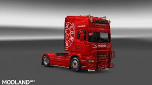 Scania rjl skin, 2 photo